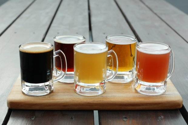 The Steins Beer Garden & Restaurant in Cupertino will offer craft andimport beers by the stein or as a flight. (Steins Cupertino)
