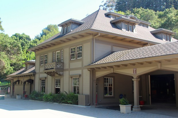 The Folger Estate Stable Historic District at Wunderlich Park, 4040 Woodside Road, Woodside, is the location of the first historical tour planned for this summer by the San Mateo County Historical Association. The event is to begin at 10 a.m. on July 22, 2017. (Courtesy of San Mateo County Historical Association)