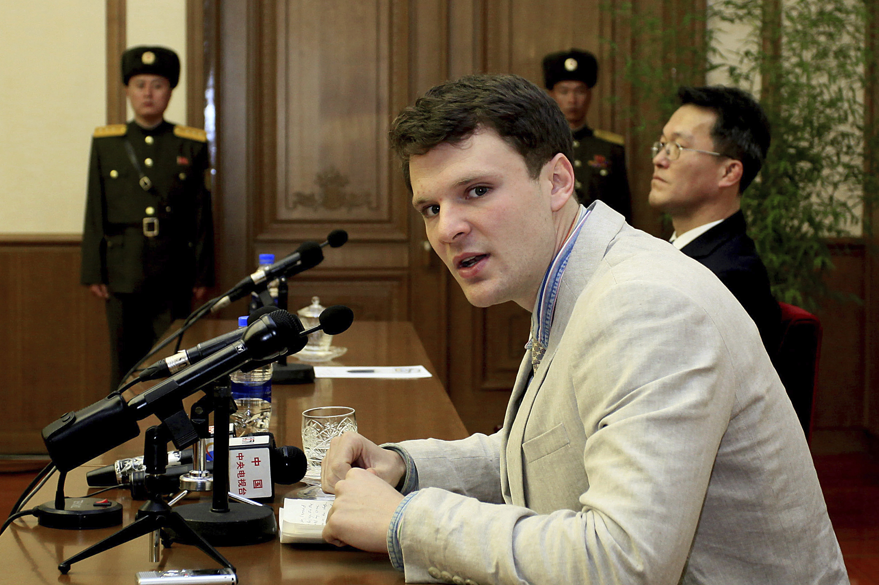 Timeline of Otto Warmbier's saga in North Korea