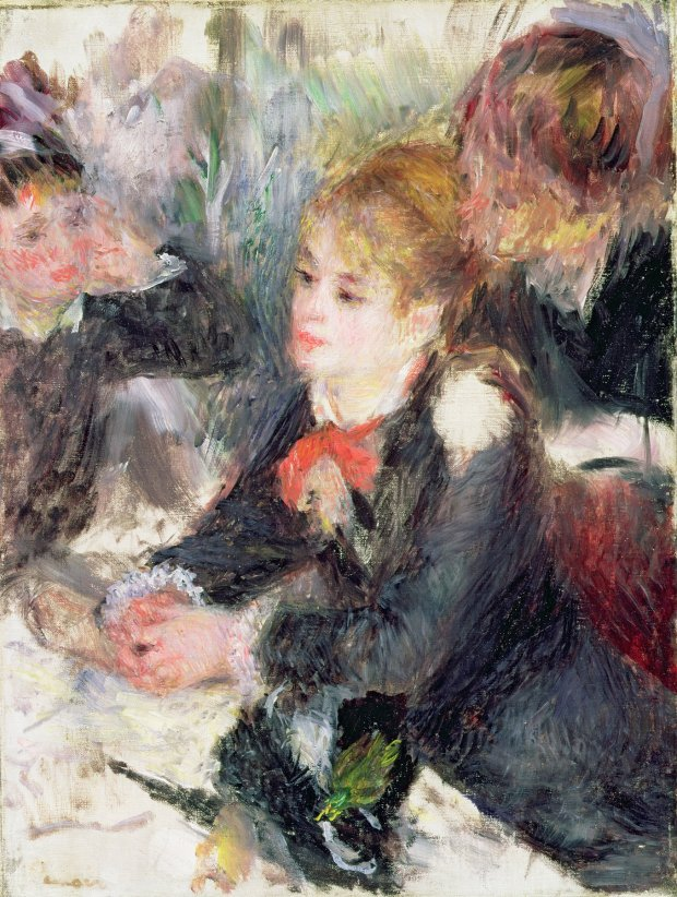 """Pierre-Auguste Renoir, """"At the Milliner's,"""" 1878. (Courtesy of Fine ArtsMuseums of San Francisco)"""