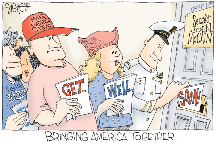 Signe Wilkinson / Philadelphia Daily News