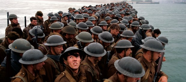 """This image released by Warner Bros. Pictures shows a scene from """"Dunkirk."""" (Warner Bros. Pictures via AP)"""