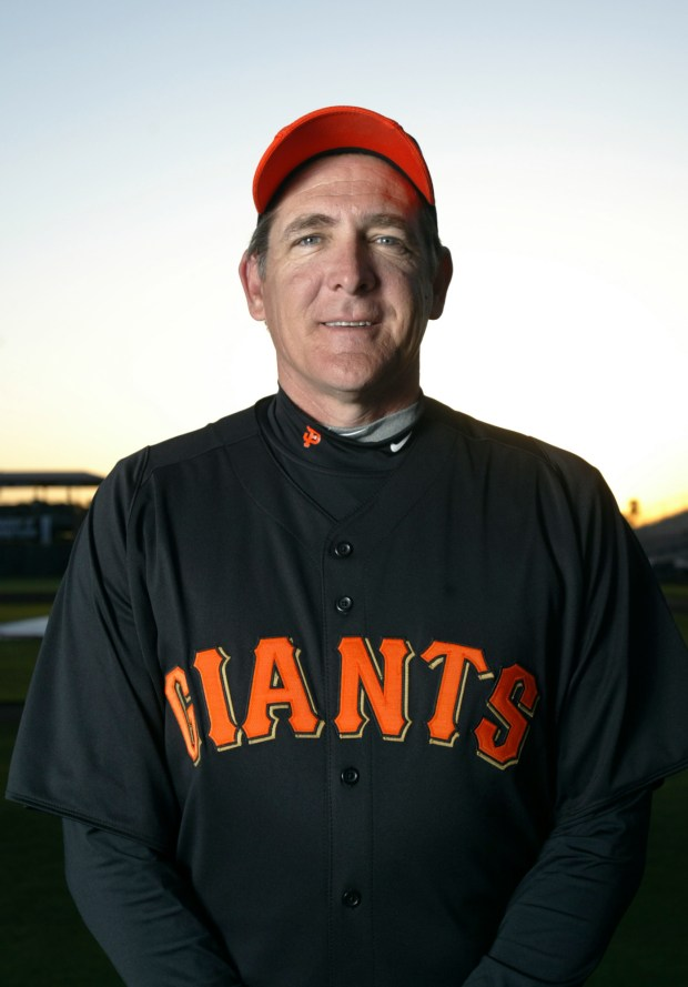 San Francisco Giants pitching coach Dave Righetti is photographed in Scottsdale, Ariz. on Thursday , Feb. 27, 2012. (Anda Chu/Staff)