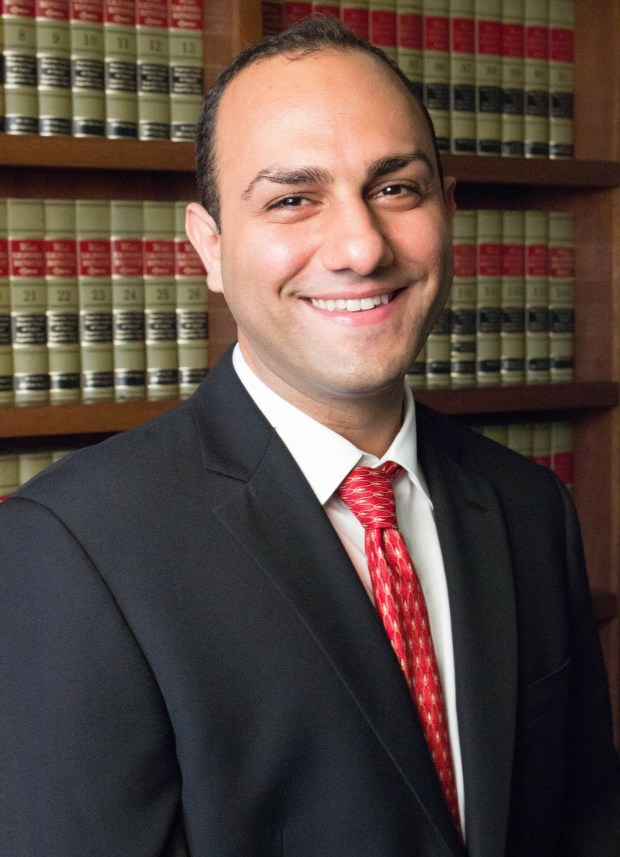 Shaian Mohammadi, a law school graduate, Santa Clara County Democratic Party official and political consultant, is pictured in this file photo