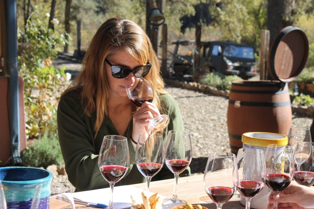 Shannon Ridge winemaker Joy Merrilees crafts robust malbec, barbera andcabernet from Lake County vineyards that feature volcanic soil (Photo: Dave Faries).