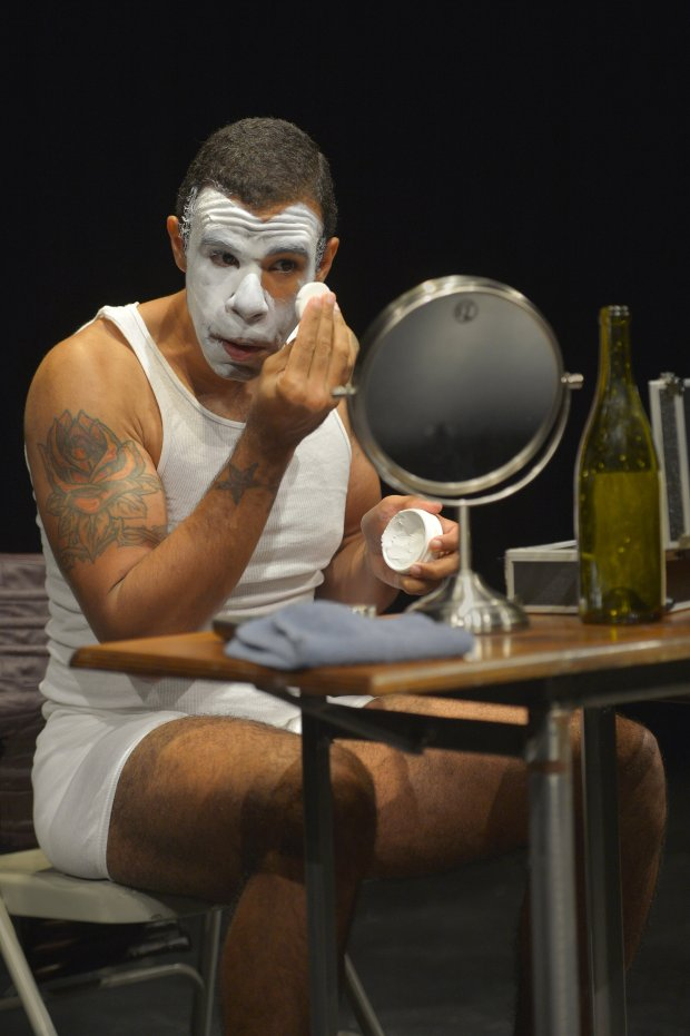 Lance Gardner as George in the West Coast premiere of *An Octoroon* atBerkeley Rep. (Kevin Berne/Berkeley Repertory Theatre)
