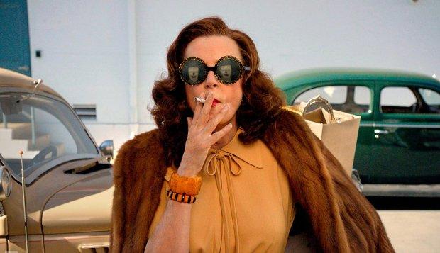 "Susan Sarandon plays Bette Davis in ""Feud."" (FX)"