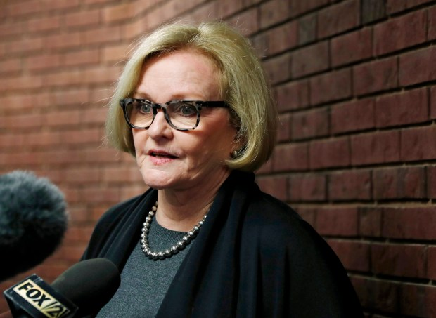 U.S. Sen. Claire McCaskill, D-Mo. (AP Photo/Jeff Roberson, File)