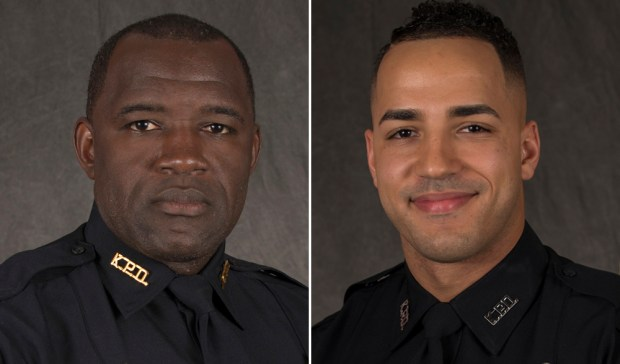 Sam Howard, Matthew Baxter. (Kissimmee Police Department/Orlando Sentinel via AP)