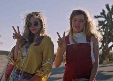 "Elizabeth Olsen, left, and Aubrey Plaza in ""Ingrid Goes West"""