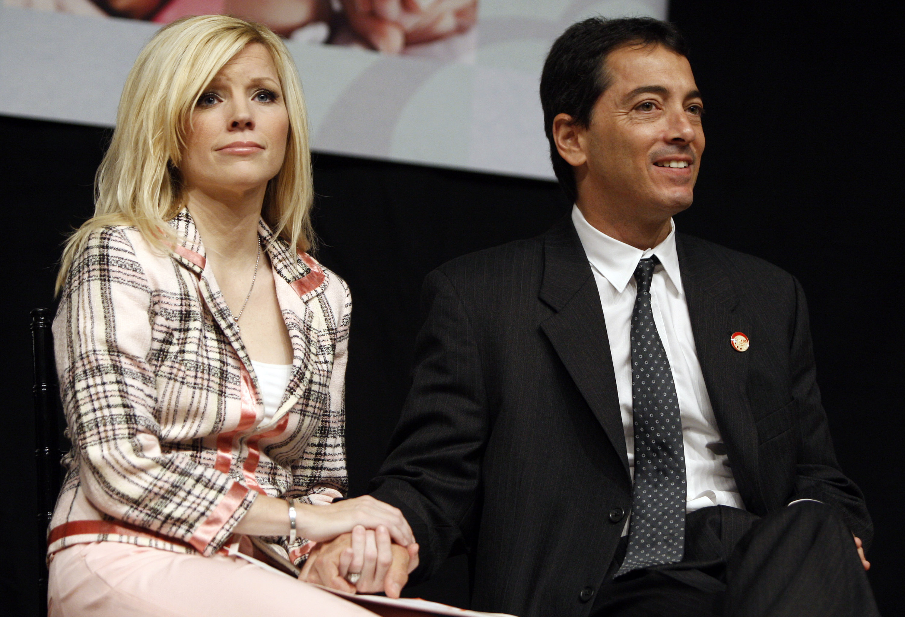 Scott Baio's Wife Renee Fires Back at Nicole Eggert's Molestation Claims