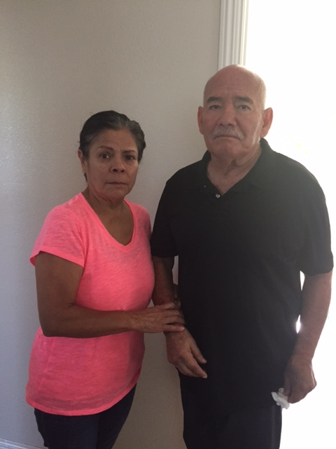 Concepcion and Francisco Romero have lived in a shelter since the Coyote Creek flood in February swept away their home. They want $170,000 for their losses. (Photo courtesy of Amanda Hawes)