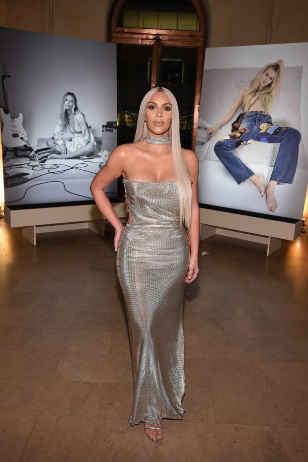 "NEW YORK, NY - SEPTEMBER 08: Kim Kardashian attends Harper's BAZAAR Celebration of ""ICONS By Carine Roitfeld"" at The Plaza Hotel presented by Infor, Laura Mercier, Stella Artois, FUJIFILM and SWAROVSKI on September 8, 2017 in New York City. (Photo by Bryan Bedder/Getty Images for Harper's BAZAAR)"