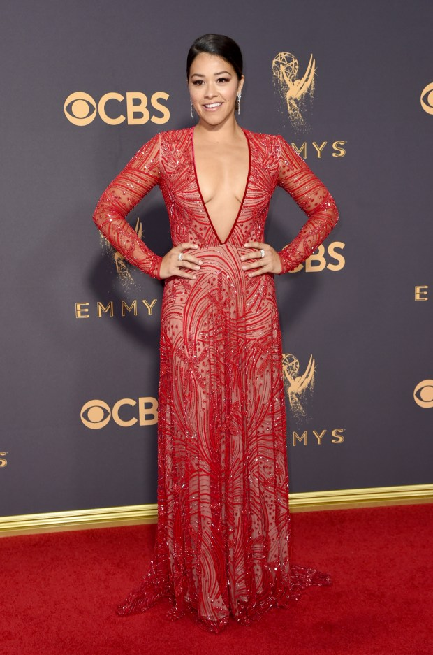 29c983afc Emmys  More proof women s breasts have taken over red carpet