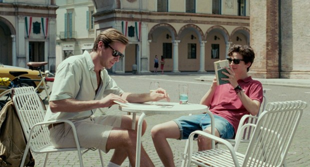"MILL VALLEY FILM FESTIVALArmie Hammer, left, is a doctoral student and Timothee Chalamet is a teenager who's obsessed with him in ""Call Me By Your Name."""
