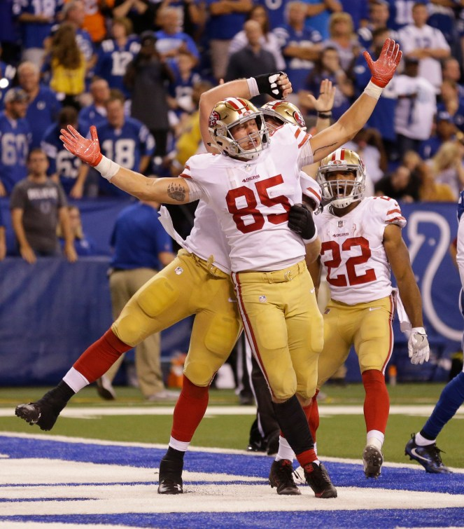 George Kittle week 5 rookie review