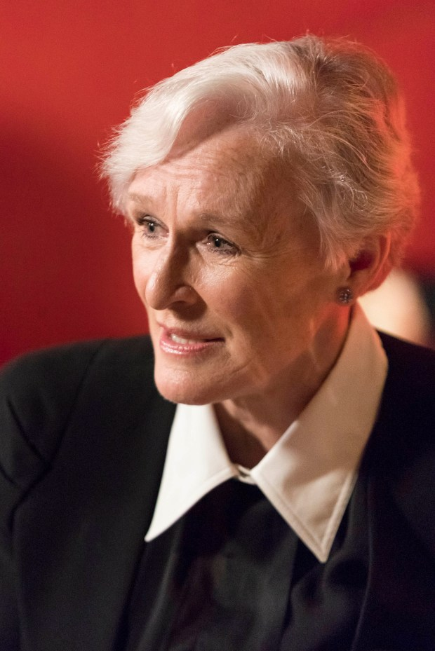 SAN FRANCISCO, CA - October 19 -  Glenn Close attends BRING CHANGE TO MIND's Annual Revels & Revelations on October 19th 2017 at Bimbo's 365 Club in San Francisco, CA (Photo - Drew Altizer)