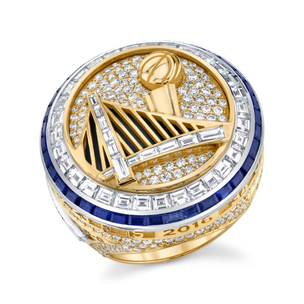 How the Warriors constructed the 2017 championship rings