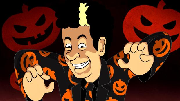 THE DAVID S. PUMPKINS ANIMATED HALLOWEEN SPECIAL -- Pictured: David S. Pumpkins voiced by Tom Hanks -- (Photo by: NBC)