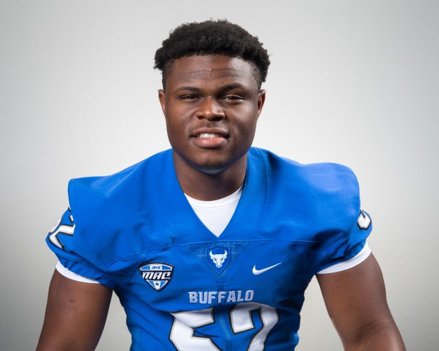 LeDarius Mack is redshirting in his first season with the University at Buffalo. (Courtesy of University at Buffalo)