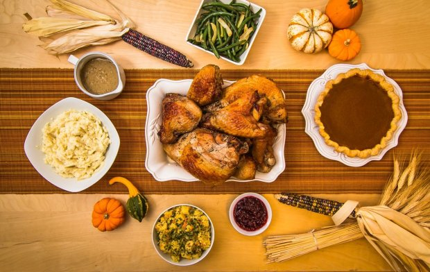 Market Hall Foods offers a Whole Feast for Thanksgiving that costs $285 andfeeds eight to 10 people (Photo courtesy of Market Hall)
