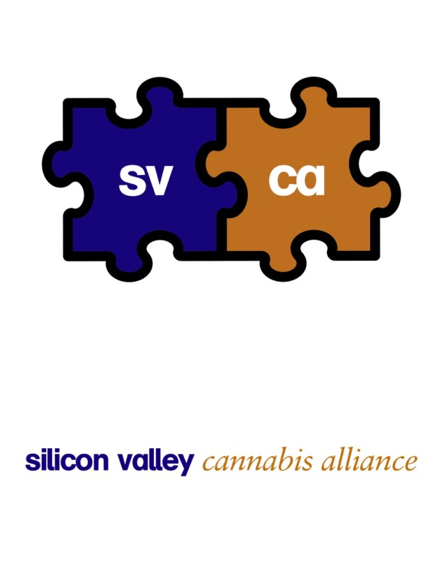 Logo of the Silicon Valley Cannabis Alliance, a new trade organization for Bay Area marijuana businesses