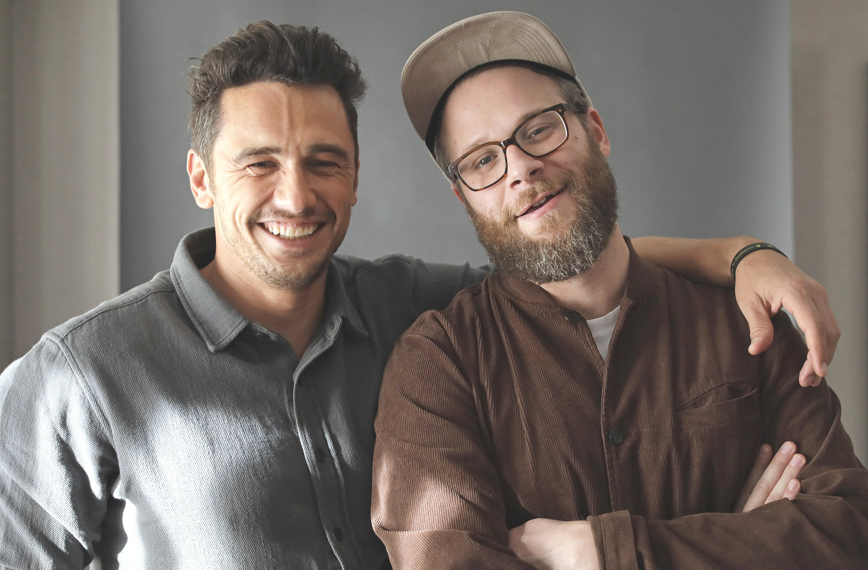 James Franco and Seth Rogen star in