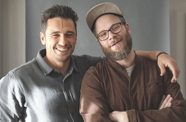 """James Franco and Seth Rogen star in """"The Disaster Artist,"""" about TommyWiseau's infamously terrible indie film, """"The Room."""" (Myung J. Chun/Los Angeles Times/TNS)"""