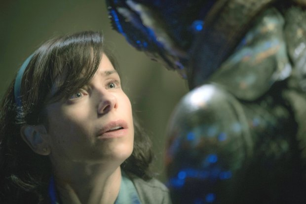 "Sally Hawkins in ""The Shape of Water."" (Kerry Hayes/Fox SearchlightPictures)"