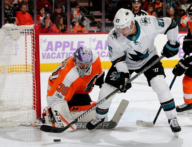 Nhl Donskoi Suffers Injury As Sharks Top Flyers
