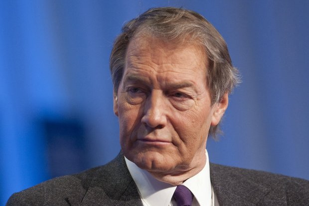 Charlie Rose, television personality, moderates a session at the 2010 WorldEconomic Forum in Davos, Switzerland. MUST CREDIT: Bloomberg photo by Andrew Harrer
