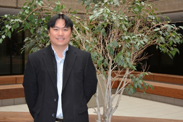 A file photo of Chris Le, who is running for San Jose City Council in District 7. (Photo courtesy of Chris Le)
