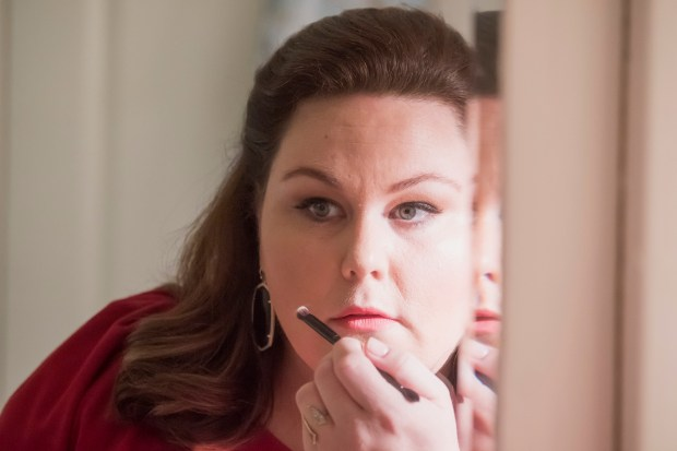 "THIS IS US -- ""Number Two"" Episode 209 -- Pictured: Chrissy Metz as Kate -- (Photo by: Ron Batzdorff/NBC)"