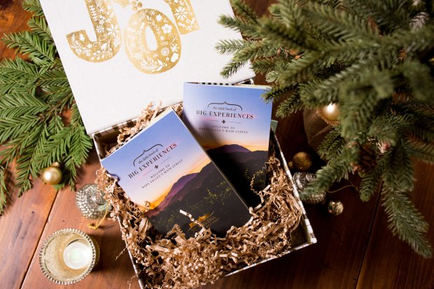 St. Helena's Little Book of Big Experiences, priced at $100, features 24quintessential wine country experiences valued at more than $1,000. (Photo courtesy of St. Helena Chamber of Commerce)