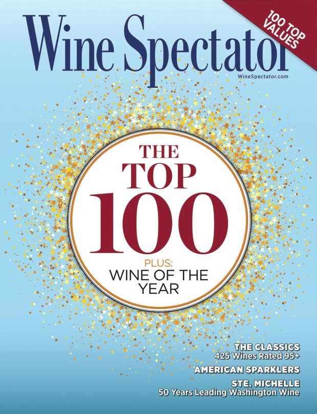 Wine Spectator just released its Top 100 wine rankings. (Wine Spectator)