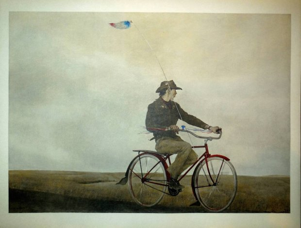 """How much is a copy of Andrew Wyeth's painting """"Young America"""" worth? Depends on the type of print and whether it includes an artist signature. (Photo courtesy of the Pennsylvania Academy of Fine Arts)"""