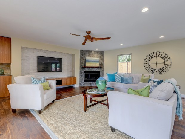 The more than 670-square-foot bonus room will be the favorite place to hang out with friends and family.
