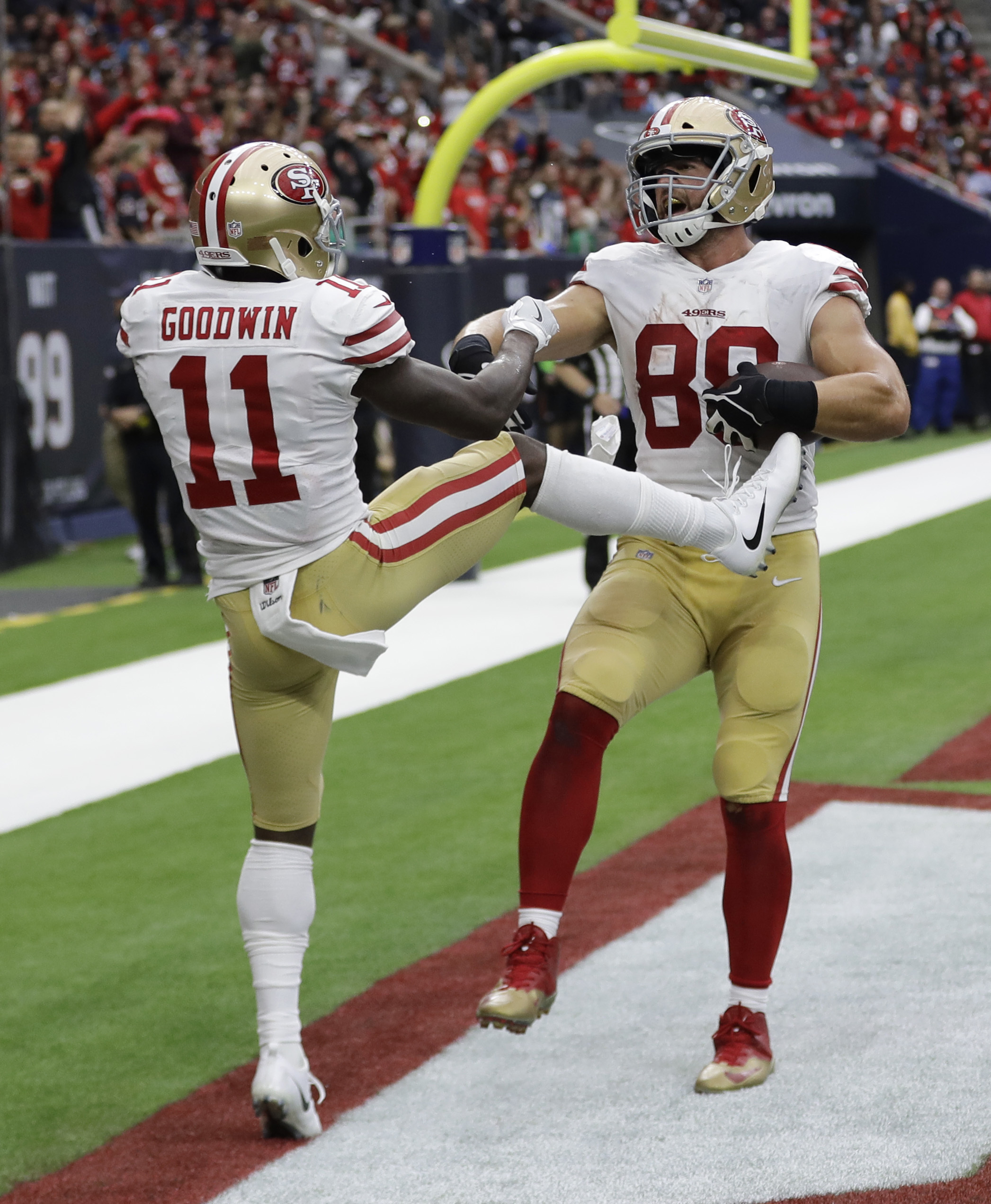 Garoppolo leads 49ers to 26-16 win over Texans