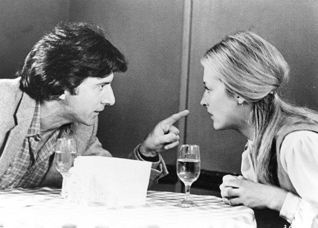 Dustin Hoffman and Meryl Streep in Kramer vs. Kramer, 1979 (Columbia Pictures)