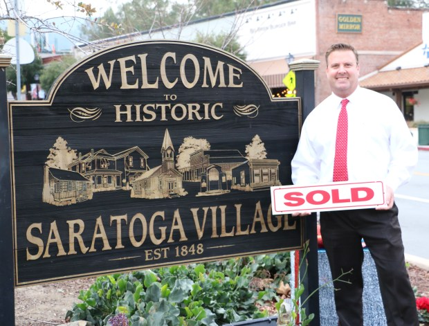 Realtor Steve McCarrick grew up in Saratoga and lives there now, so he knows all about what the city offers.