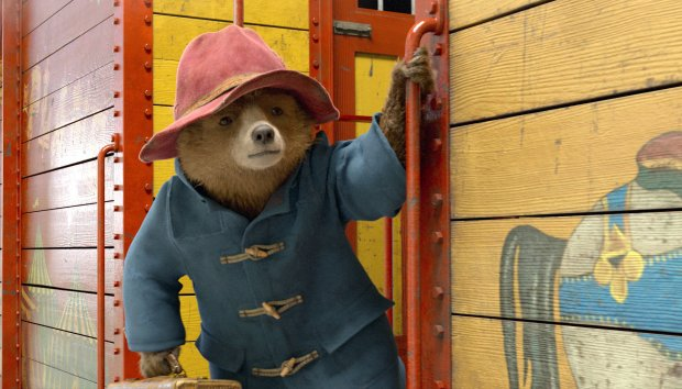 "Paddington Bear, a character created by the late Michael Bond for hischildren's stories, continues his adventures in London on the big screen in ""Paddington 2,"" a sequel to the 2014 film. Again the bear is voiced by Ben Whishaw. (Warner Bros. Pictures)"