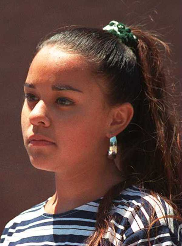 Cecilia Rios. Photo taken 7-6-93 at Richmond High School. Rios was murdered in March 1994. (Bay Area News Group Archive)