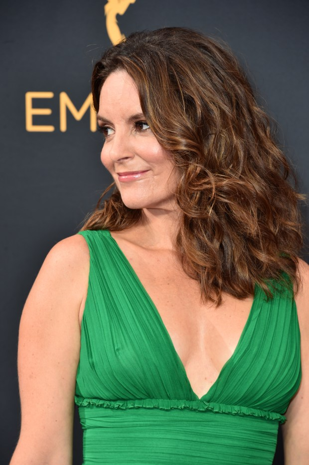 LOS ANGELES, CA - SEPTEMBER 18: Actress Tina Fey attends the 68th Annual Primetime Emmy Awards at Microsoft Theater on September 18, 2016 in Los Angeles, California. (Photo by Alberto E. Rodriguez/Getty Images)