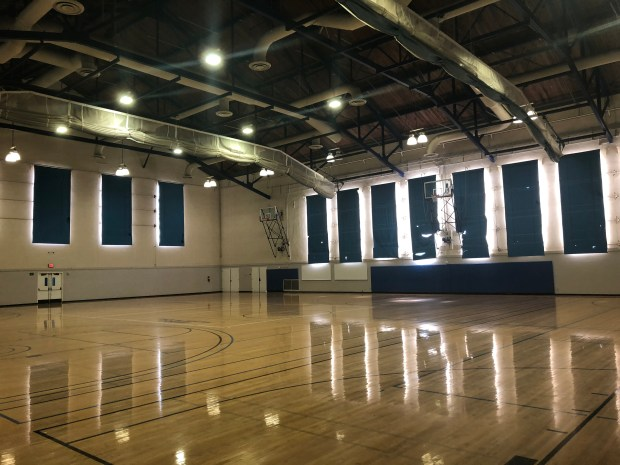The basketball gym, neatly tucked on the second floor inside of UCLA's Student Activities Center, has been a pillar of basketball history on the West Coast.