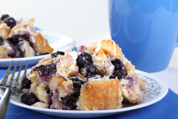 Hosting a brunch? Got some Costcomuffins? Try this easy do-ahead blueberry muffin-bread pudding adapted from a Bakerella recipe. (Getty Images)