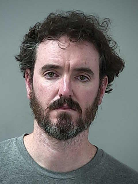 A police mugshot of Colin Flynn, arrested in Morgan Hill, Calif. on Jan. 13, 2018 on suspicion of drunk driving and obstructing the work of a police officer (Courtesy of Morgan Hill Police)
