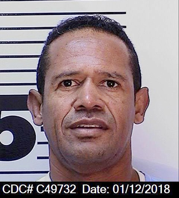 "This Jan. 1, 2018 prison identification photo provided by the California Department of Corrections and Rehabilitation shows inmate William Cordoba. A U.S. jury awarded $65,000 to Cordoba, a convicted murderer in California's San Quentin State Prison, after finding a female prison instructor turned him into a ""sex slave."" Cordoba, who is serving a life sentence for a 1981 second-degree murder and robbery, sued vocational instructor Silvia Pulido because he said she coerced him into trading sex acts after promising to get him a lawyer to help him get out of prison, then retaliated against him when he tried to break off the relationship. (California Department of Corrections and Rehabilitation via AP)"