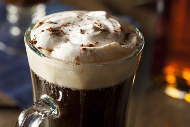Rosie McCann's in San Jose's Santana Rows serves Irish coffee made with Jameson whiskey, Baileys Irish Cream, Santa Cruz Coffee Roasting Co.'scoffee and whipped cream. (Courtesy of Rosie McCann's)