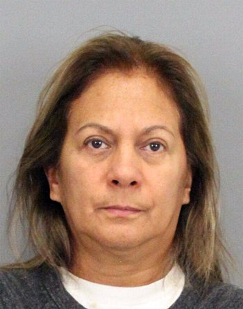 Ivonne Castillo was arrested on grand theft charges Tuesday. The SantaClara County Sheriff's Office said she provided immigration services in San Jose without proper clearance from the California Secretary of State. (Courtesy of the Santa Clara County Sheriff's Office)