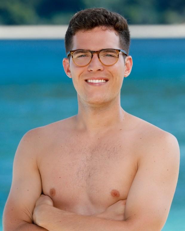 Bradley Kleihege will be competing on 'Survivor: Ghost Island.' (Robert Voets/CBS)